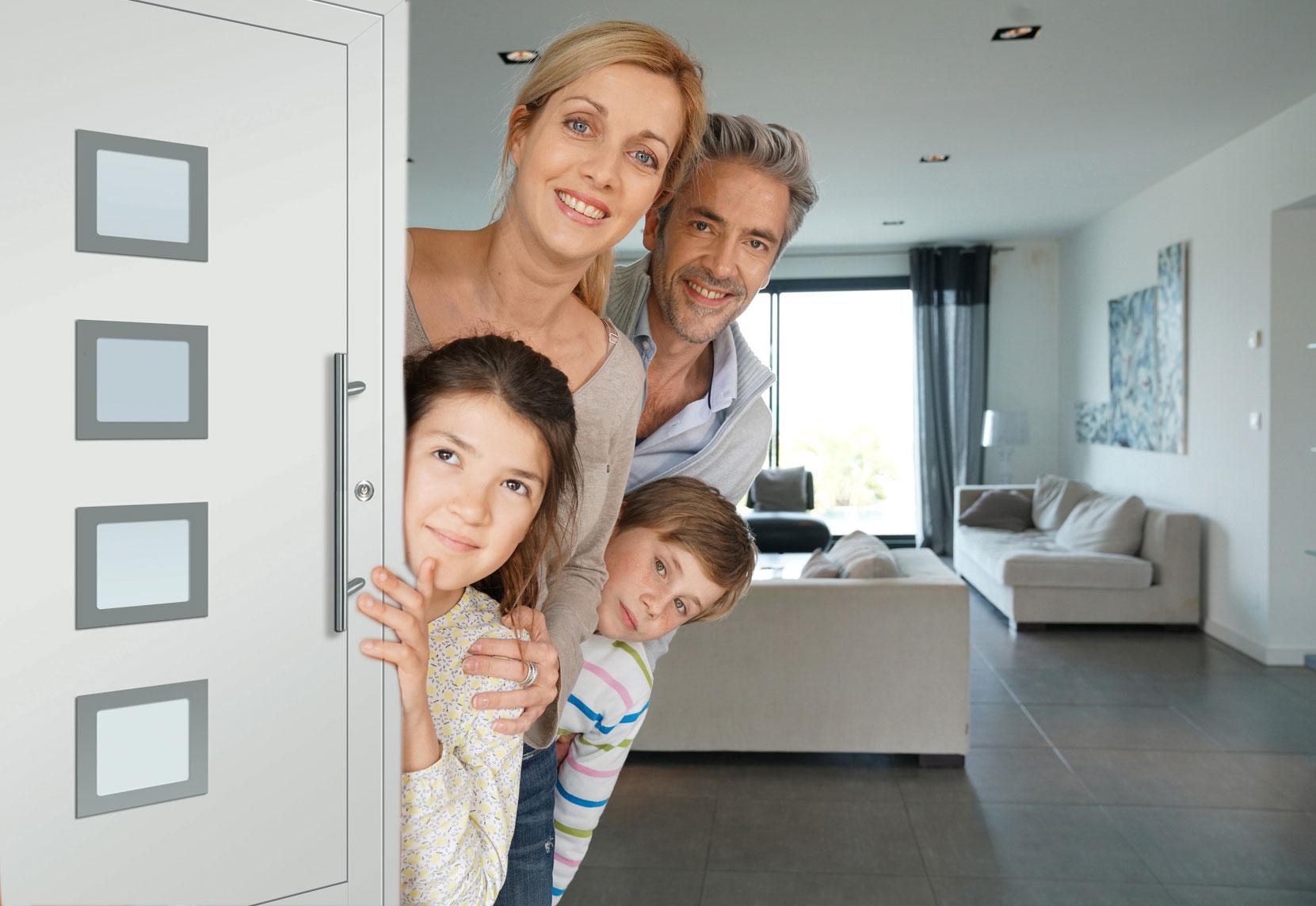 Moderne Haustüren zu günstigen Preisen